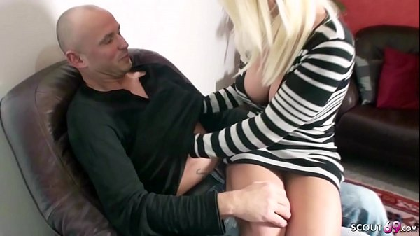 STEP MOM love ANAL and Seduce Young Boy to get - German Thumb