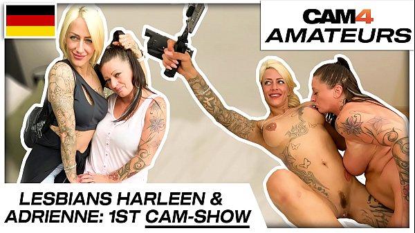 Harleen van Hynten and Adrienne Kiss: Naughty lesbian cam sex fun with 2 needy bitches! Cam4.com