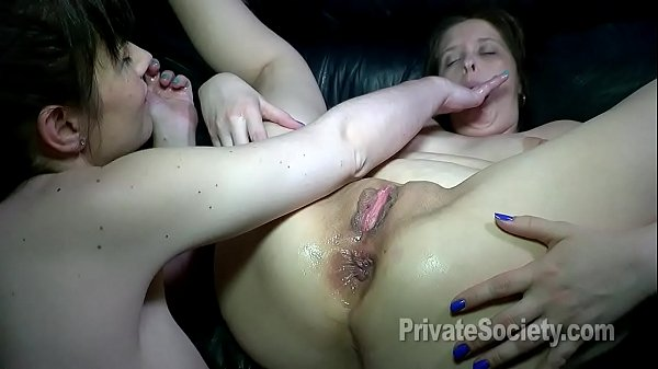 Stretching Those Lesbian Fuck Holes