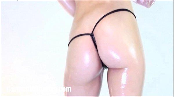 Oily Booty Shaking by Carmen Valentina