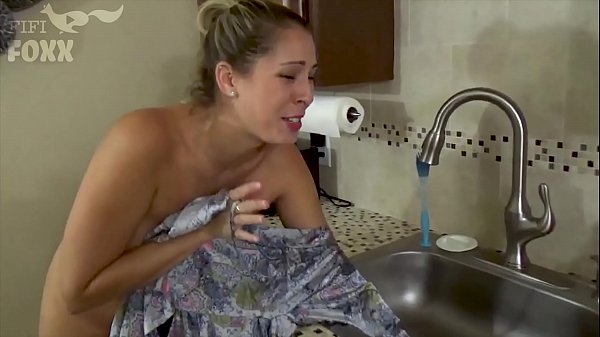 Mom's Hand Gets Stuck in Sink & Son Molests Her - Sex, POV, MILF - Nikki Brooks