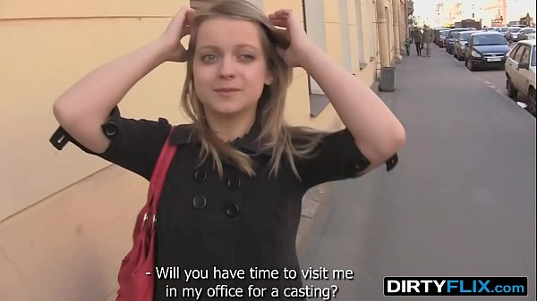 Dirty Flix - A blue-eyed chick Alena, shy but i...
