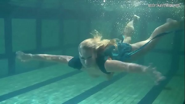 Blonde Feher with big firm tits underwater Thumb
