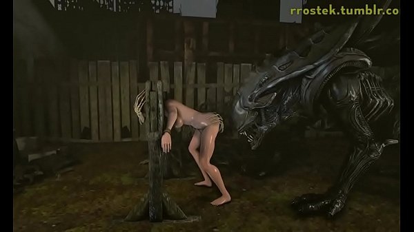3D Hardcore Animation Alien Xenomorph Fucking Thumb