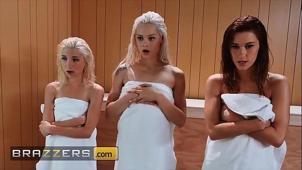Hung Dude Bones 3 Sexy Babes (Piper Perri, Elsa Jean, Alaina Dawson) - Brazzers