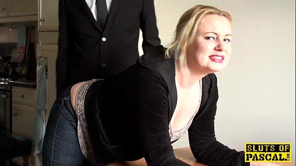 British BDSM slut spanked and dominated Thumb