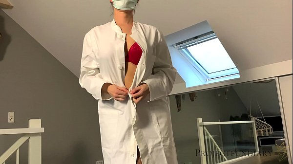 hot nurse in red lingerie cares for patient - projectfundiary Thumb