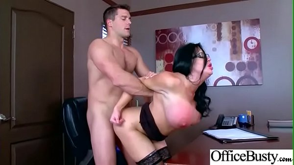 Busty Office Girl (Sybil Stallone) Enjoy Intercorse mov-29
