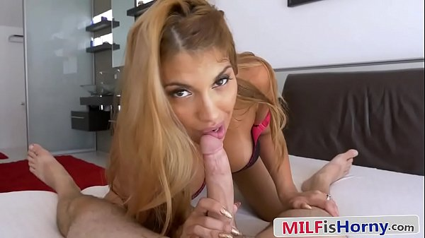 Bored Trophy Wife Cheats With Her Son's Friend - Mercedes Carrera