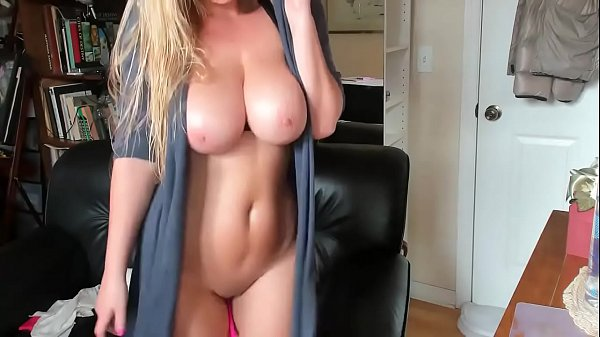 BIGGEST NATURAL TITS I'VE EVER SEEN!!!! see her masturbating for tips on Cam-thots.com Thumb