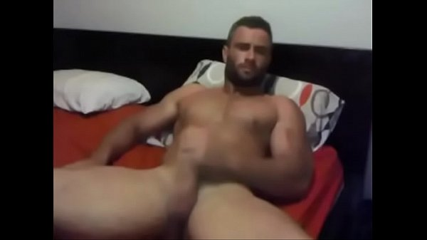 Muscled Hunk Loves Jerking Off for you - more at www.jizz.zone