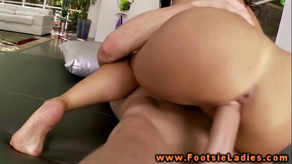 foot asian fetish babe pussy plowed by this lucky guy