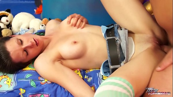 Teenyplayground Big cock in tight pussy is school of life for brunette teen