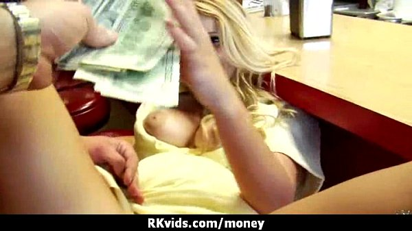 Amateur Chick Takes Money For A Fuck 30