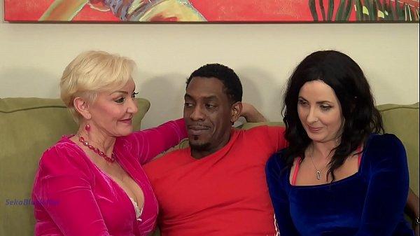 Seka And Helena Enjoy Interracial BBC
