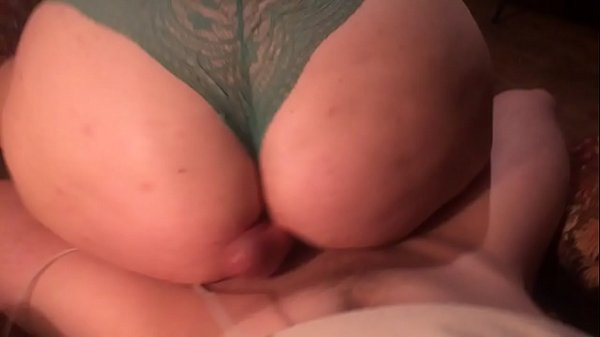 Sexy pawg giving lap dance in panties