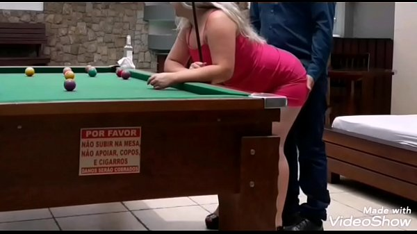 Blonde Fucking on the Pool Table (Full Video on XRed)