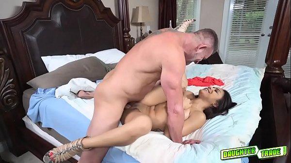 Daddy Tony fucks Nicole Bexley pussy