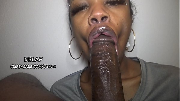 Jamaican Teen With Huge Dick Sucking Lips Gives...