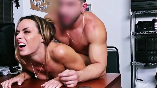 Officer Makes Jaimie Vine Undress And Fuck Her ...
