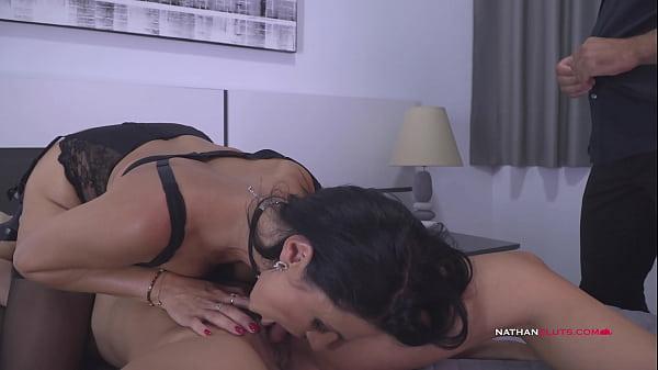 Hot Milf Ania Kinski & Slutty Carmen Leroy Gives Their Butts 2 Hung Boys - 4K - Teaser