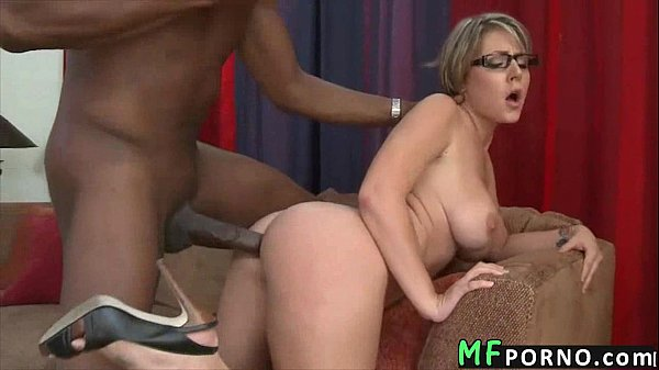 Teacher with glasses tries big black dick Velicity Von 5 Thumb