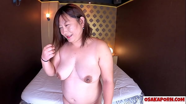 Japanese fat mama with big tits talks about her...