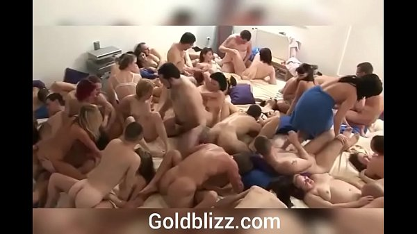 Group sex & orgy, wild party