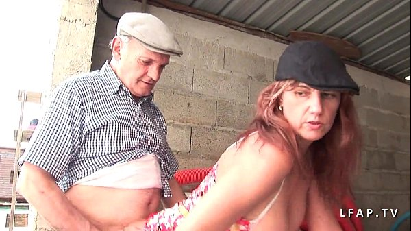 Milf whore with big udders chains cocks in her ass