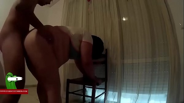 He fucks her ass and she gives him a white kiss ADR0335