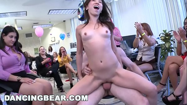 DANCING BEAR - This Girls 30th Birthday Party Goes Crazy When The Bear Shows Up Thumb