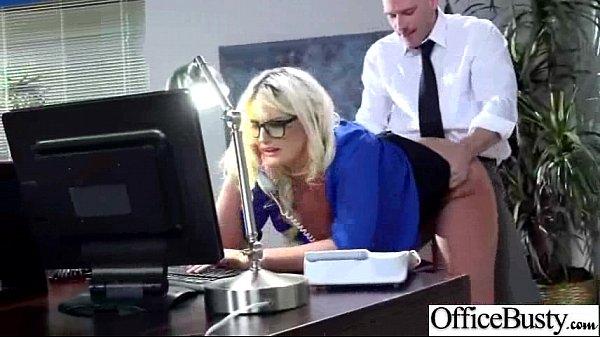 Office Busty Girl (julie cash) Get Hard Style B...