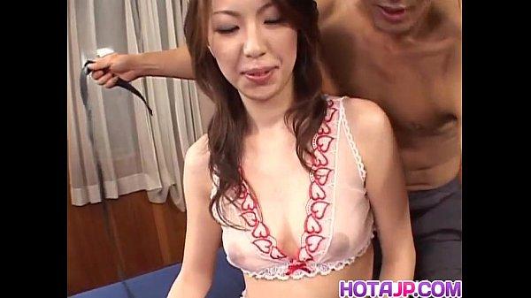 Tomoe knows amazing skills on dick
