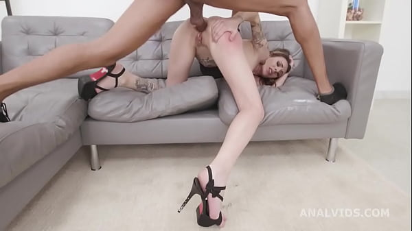 Gemma Bones welcome to Porn with Balls Deep Anal, Gapes and Swallow GL408