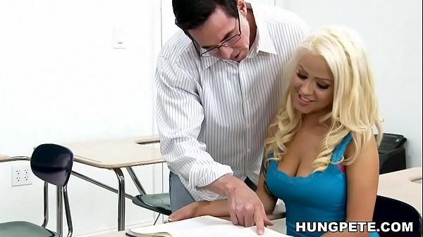 Cami Cole on her teacher's big dick - Peter North Thumb