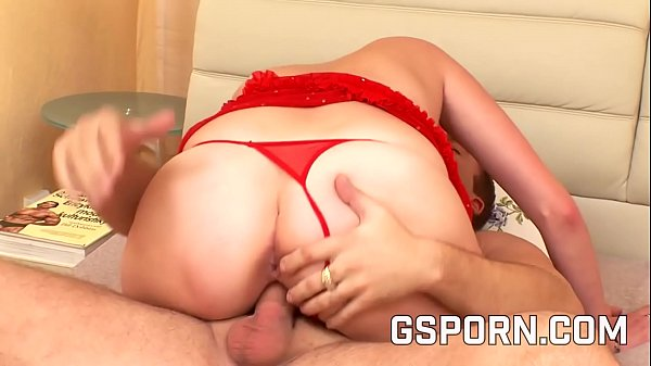 Chubby hot lingerie fucking in the bed room Thumb