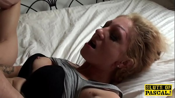 Bonded english sub slut deepthroating maledom
