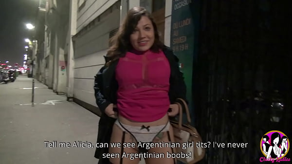 Beautiful argentinian girl Alicia from Corrientes wants to tastes a big French meat Thumb