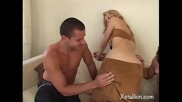 Double penetration of a single whore Vol. 9 Thumb