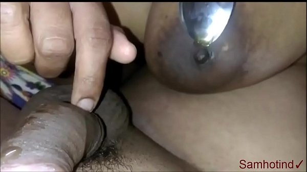 Milky boobs desi wife handjob with honey by hubby's cock