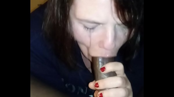 Milf slobbering all over the BBC