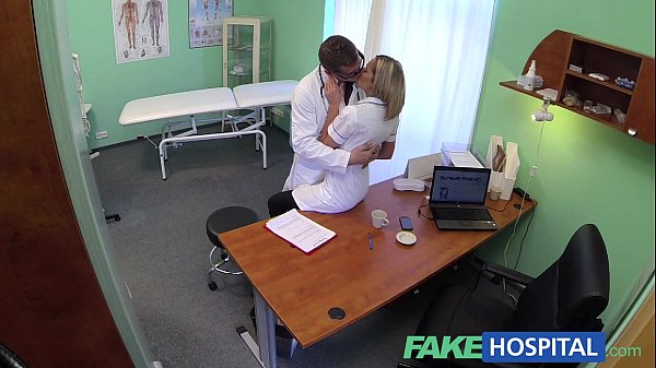 FakeHospital Naughty blonde nurse gets doctors full attention Thumb