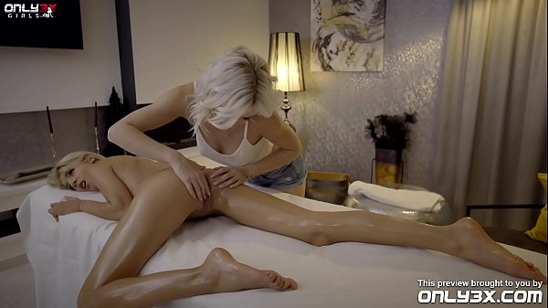 Missy Luv spends her weekend with massage and lesbian sex with Zazie Skymm - trailer by Only3x Girls