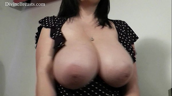 Busty Babe Bounces Her Big Boobs