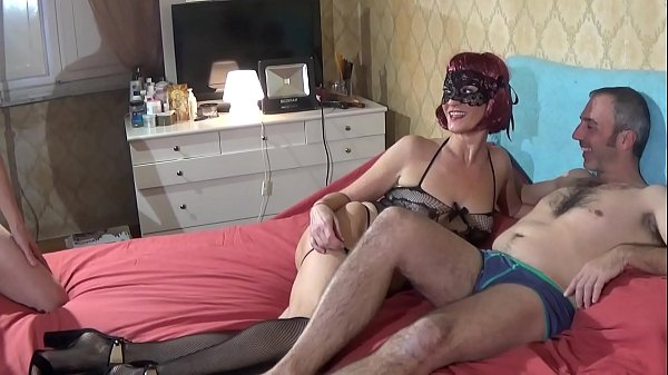 Hot Mature Woman fucked by two cocks getting a lot of facial cumshot