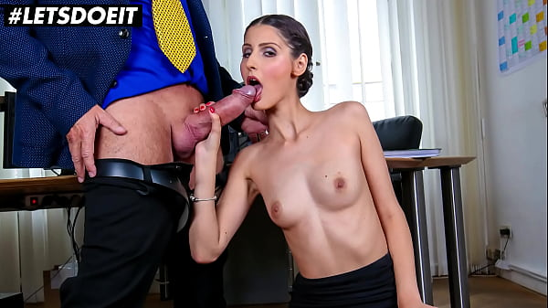 BUMS BUERO - (Coco Kiss & Big George) Sexy Secretary Takes It From Her Boss Thumb