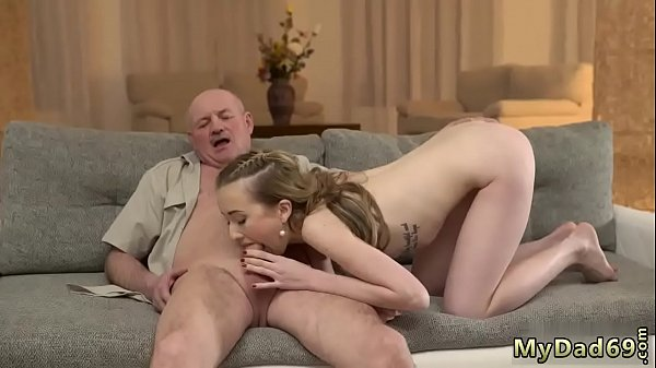 Horny old pervert and blonde woman Russian Language Power