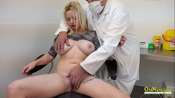 OldNannY Two Horny Ladies Examination