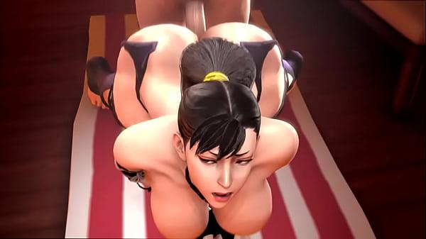 Street fighter fucking Chun-Li sexy ass