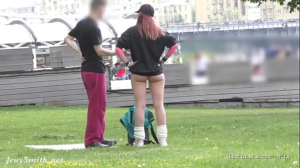 Ass flashing in public by Jeny Smith. Bubble butt hidden spy cam Thumb